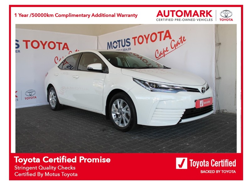 2021 Toyota Corolla Quest 1.8 Exclusive Western Cape Brackenfell_0