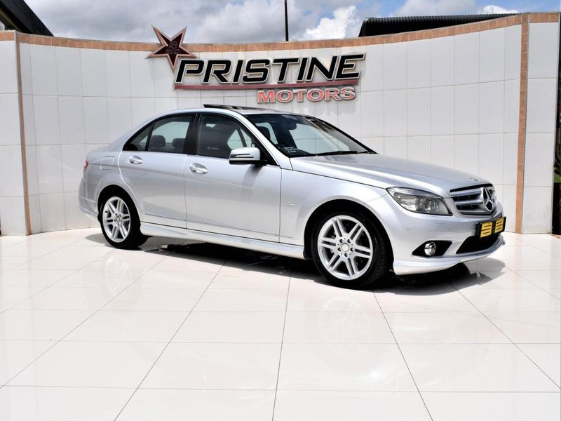 2010 Mercedes-Benz C-Class C200k Avantgarde At  Gauteng De Deur_0