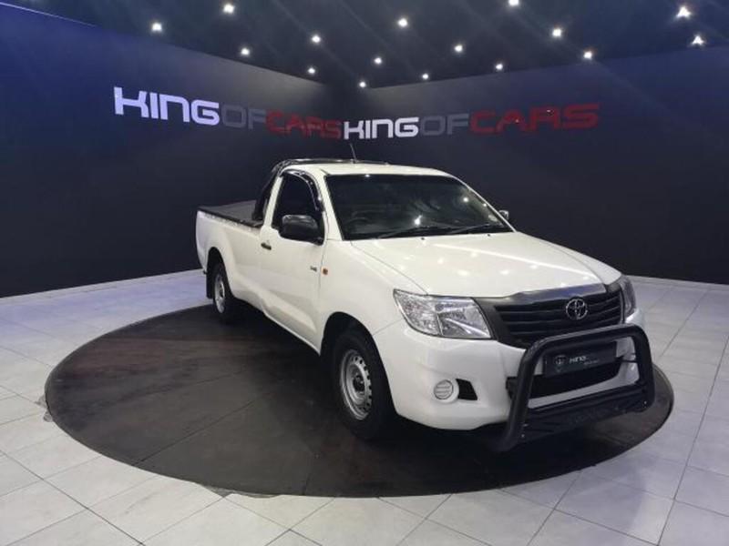 2014 Toyota Hilux 2.5 D-4d Pu Sc  Gauteng Boksburg_0