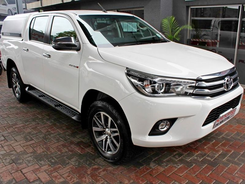 2018 Toyota Hilux 2.8 GD-6 Raider 4X4 Double Cab Bakkie Auto Gauteng Pretoria_0
