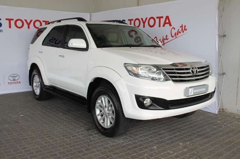 2012 Toyota Fortuner 4.0 V6 Heritage Rb At  Western Cape Brackenfell_0