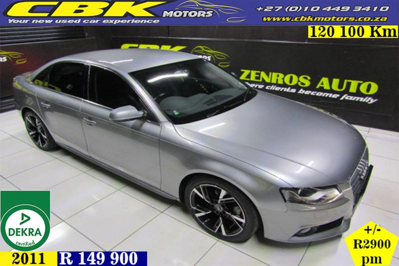 2011 Audi A4 2.0 Tdi Ambition 100kw b8  Gauteng Boksburg_0