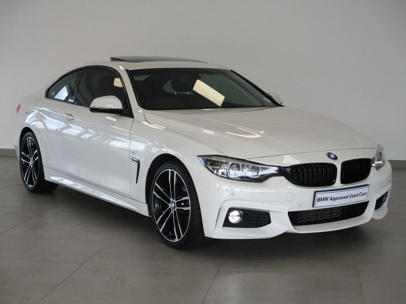 2019 BMW 4 Series BMW 4 Series 420d Coupe M Sport Sports-Auto Kwazulu Natal Pinetown_0