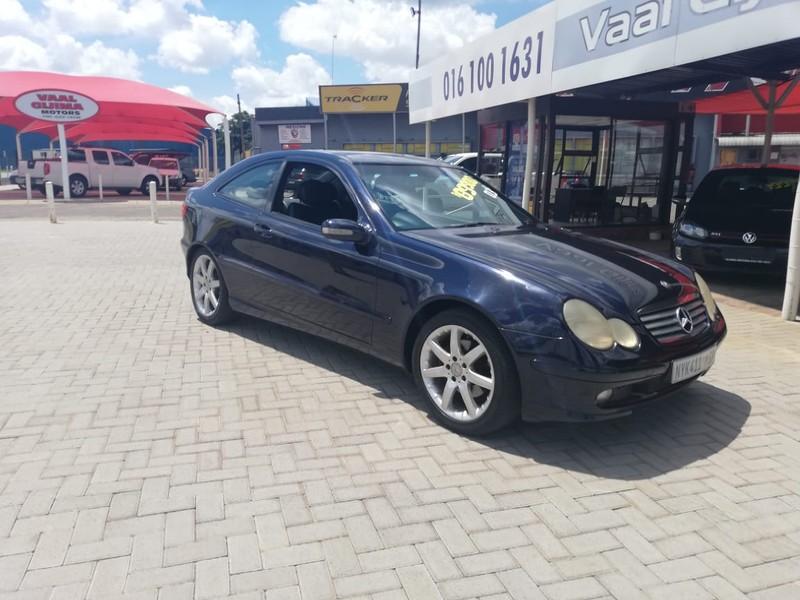 2003 Mercedes-Benz C-Class C 230k Coupe At  Gauteng Vereeniging_0