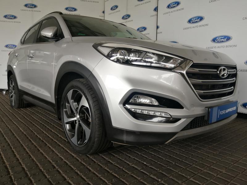 2017 Hyundai Tucson 1.6 TGDI Elite DCT Gauteng Johannesburg_0