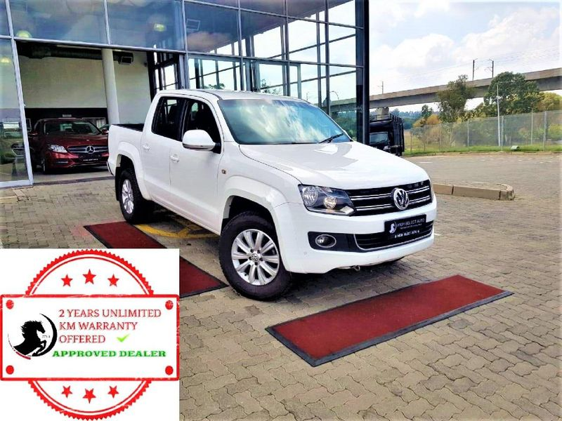 2016 Volkswagen Amarok 2.0 BiTDi Highline 132KW 4MOT Auto Double cab bakk Gauteng Midrand_0