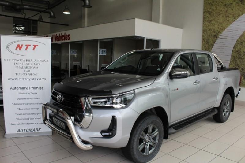 2021 Toyota Hilux 2.8 GD-6 Raider 4x4 Auto Double Cab Bakkie Limpopo Phalaborwa_0