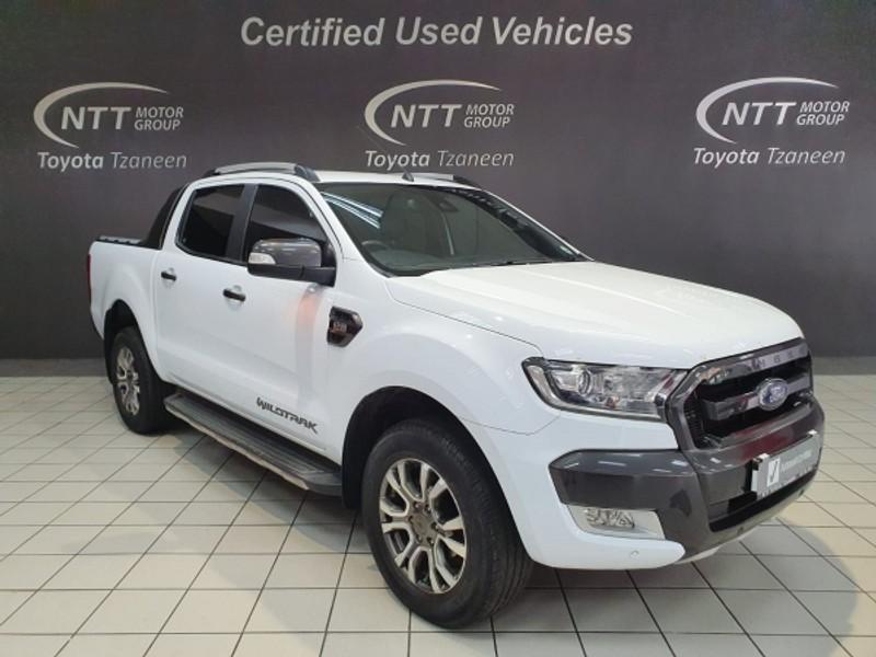 2018 Ford Ranger 3.2TDCi WILDTRAK Auto Double Cab Bakkie Limpopo Tzaneen_0