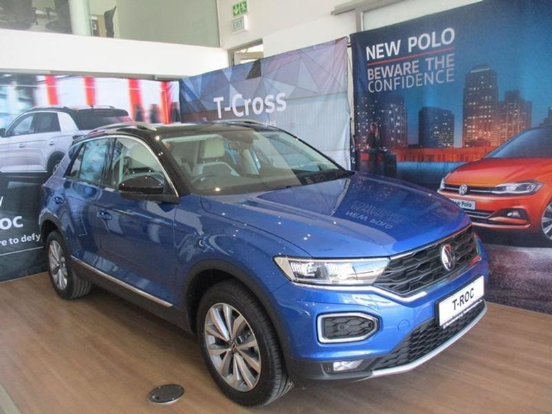 2021 Volkswagen T-ROC 1.4 TSI Design Tiptronic North West Province Rustenburg_0