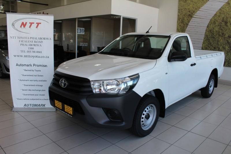 2021 Toyota Hilux 2.0 VVTi S Single Cab Bakkie Limpopo Phalaborwa_0
