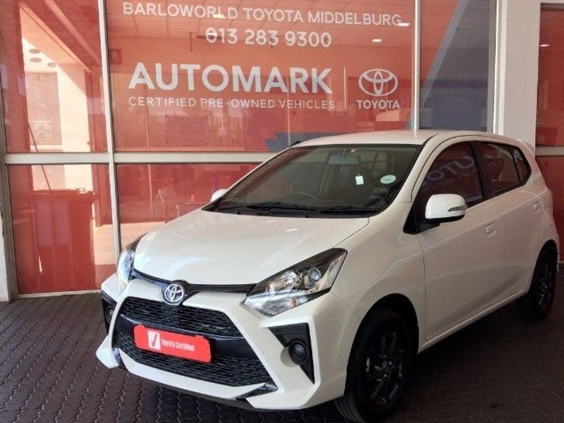2021 Toyota Agya 1.0 Auto Mpumalanga Middelburg_0