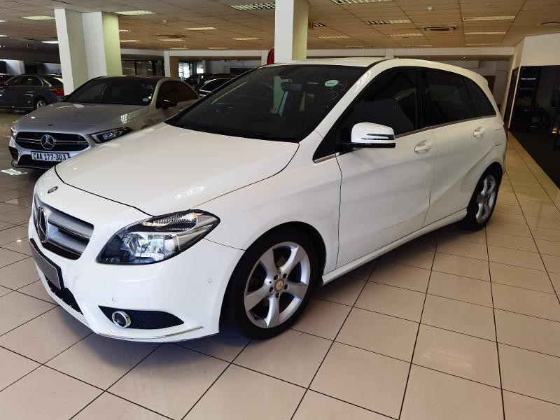 2014 Mercedes-Benz B-Class B 180 Be At  Western Cape Cape Town_0