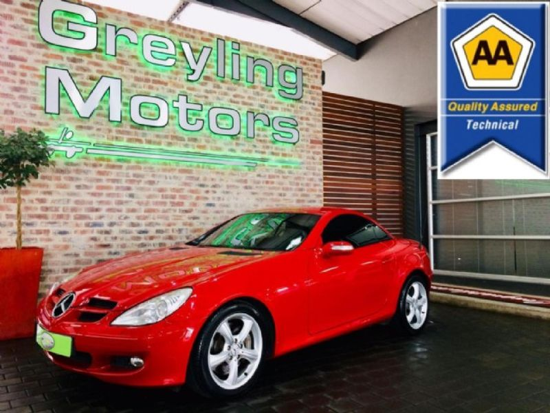 2005 Mercedes-Benz SLK-Class Slk 350 At  Gauteng Pretoria_0