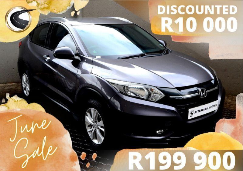 2015 Honda HR-V 1.5 Comfort CVT Gauteng Pretoria_0