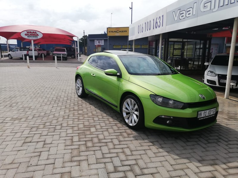 2011 Volkswagen Scirocco 2.0 Tsi Sportline  Gauteng Vereeniging_0