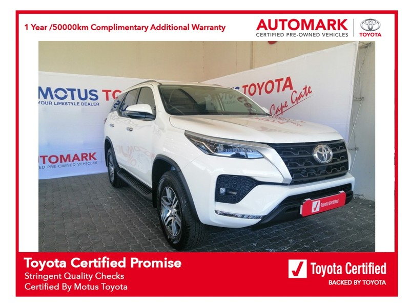 2021 Toyota Fortuner 2.4GD-6 RB Western Cape Brackenfell_0