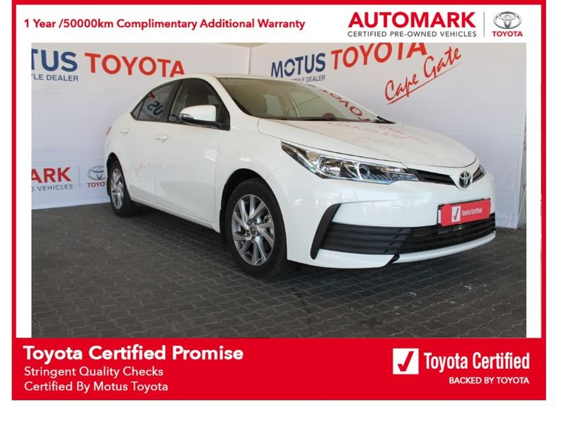 2021 Toyota Corolla Quest 1.8 Prestige Western Cape Brackenfell_0