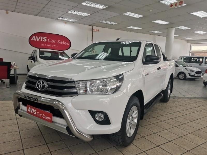 2018 Toyota Hilux 2.4 GD-6 RB SRX PU ECAB Free State Bloemfontein_0