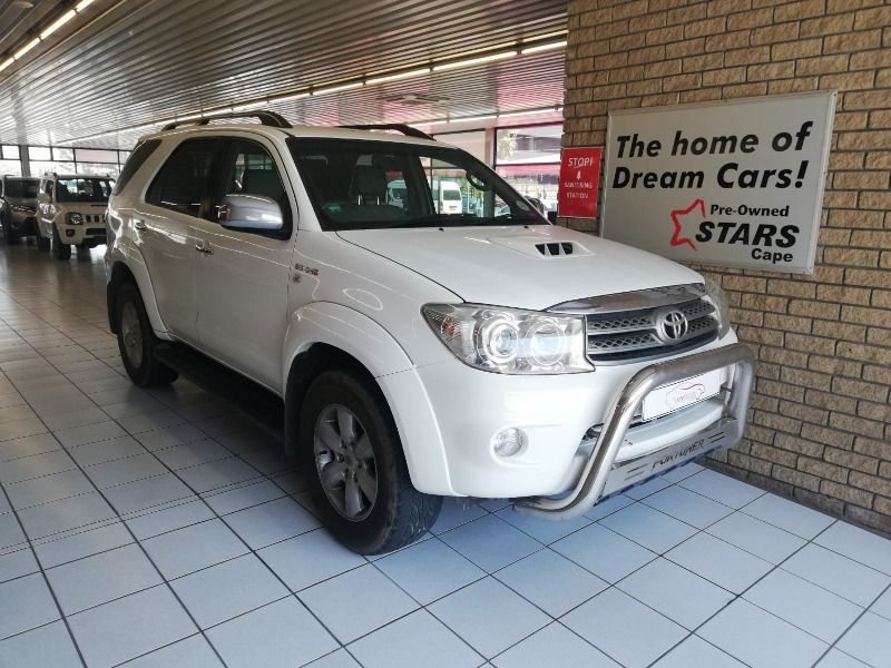 2010 Toyota Fortuner 3.0d-4d Rb  Western Cape Bellville_0