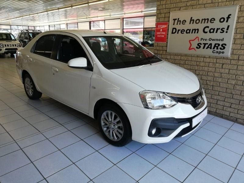 2018 Toyota Etios 1.5 Xs  Western Cape Bellville_0