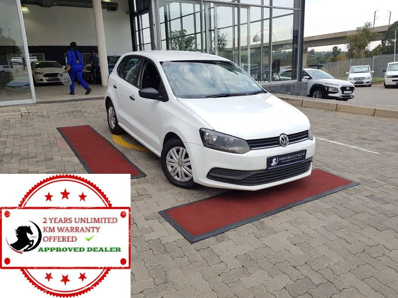 2017 Volkswagen Polo 1.2 TSI Trendline 66KW Gauteng Midrand_0
