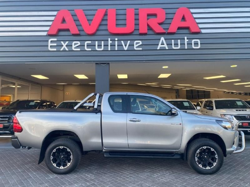 2017 Toyota Hilux 2.8 GD-6 RB Raider Extended Cab Bakkie North West Province Rustenburg_0