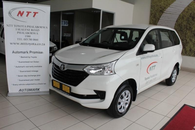 2021 Toyota Avanza 1.5 SX Auto Limpopo Phalaborwa_0