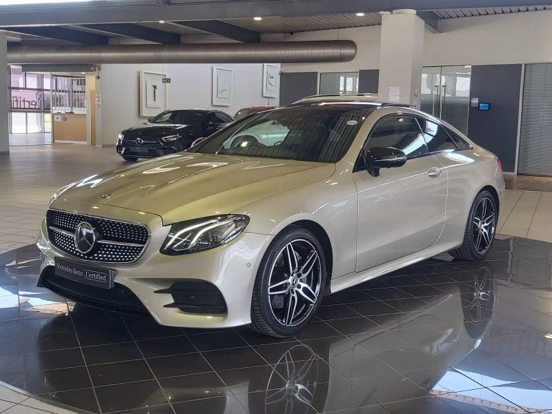2019 Mercedes-Benz E-Class E 220d Coupe Western Cape Cape Town_0