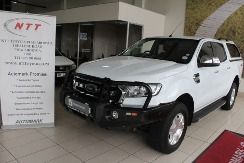 2017 Ford Ranger 3.2TDCi XLT 4X4 Double Cab Bakkie Limpopo Phalaborwa_0