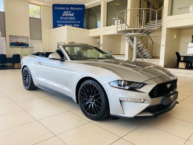 2021 Ford Mustang 5.0 GT Convertible Auto Gauteng Johannesburg_0