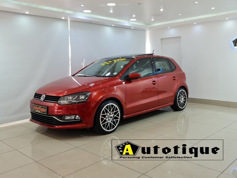 2016 Volkswagen Polo 1.2 TSI Highline DSG 81KW Kwazulu Natal Durban_0
