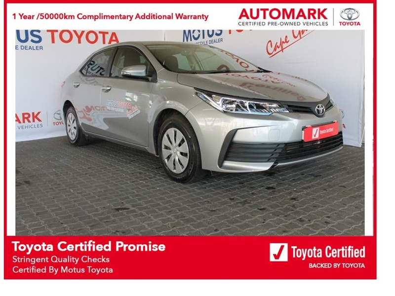 2021 Toyota Corolla Quest 1.8 CVT Western Cape Brackenfell_0