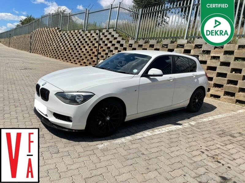2014 BMW 1 Series 118i 5dr At f20  Gauteng Pretoria_0
