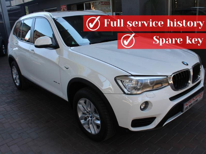 2014 BMW X3 xDrive20i Auto Gauteng Pretoria_0