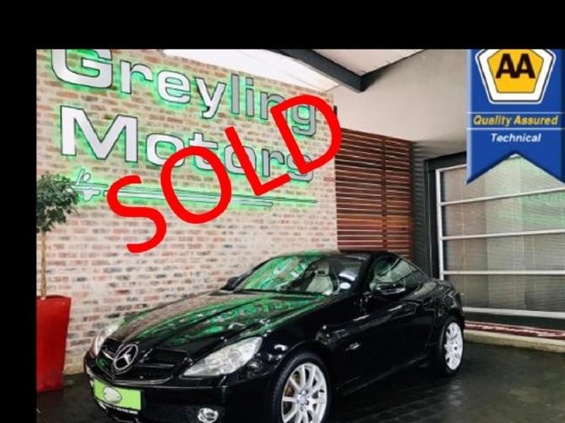 2009 Mercedes-Benz SLK Slk 200 Kompressor At  Gauteng Pretoria_0