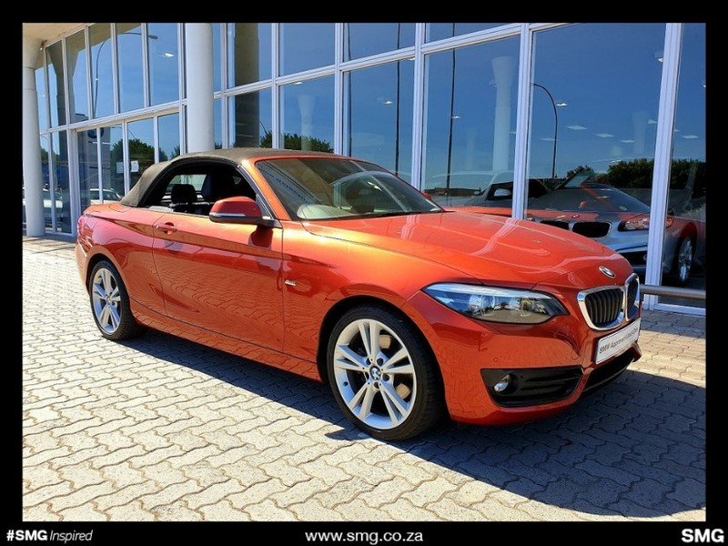 2018 BMW 2 Series 220i Convertible Sport Line Auto F23 Western Cape Tygervalley_0