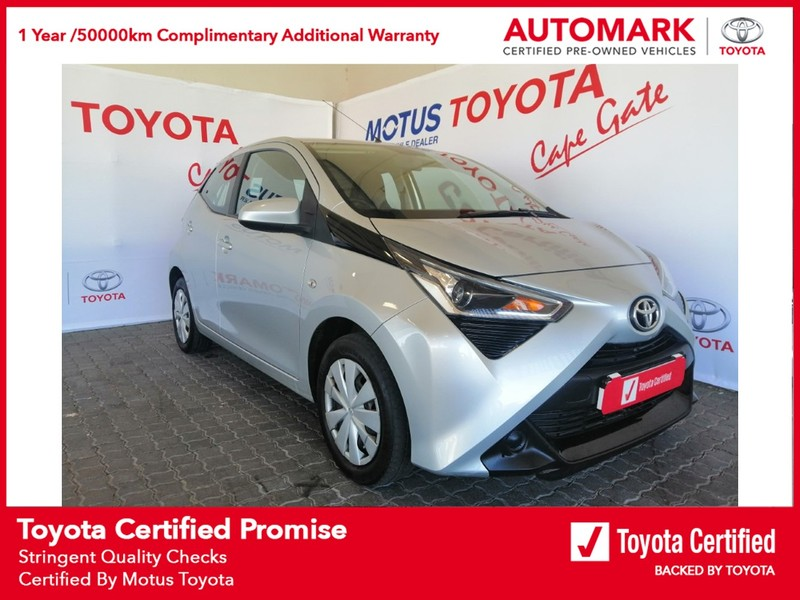 2019 Toyota Aygo 1.0 5-Door Western Cape Brackenfell_0
