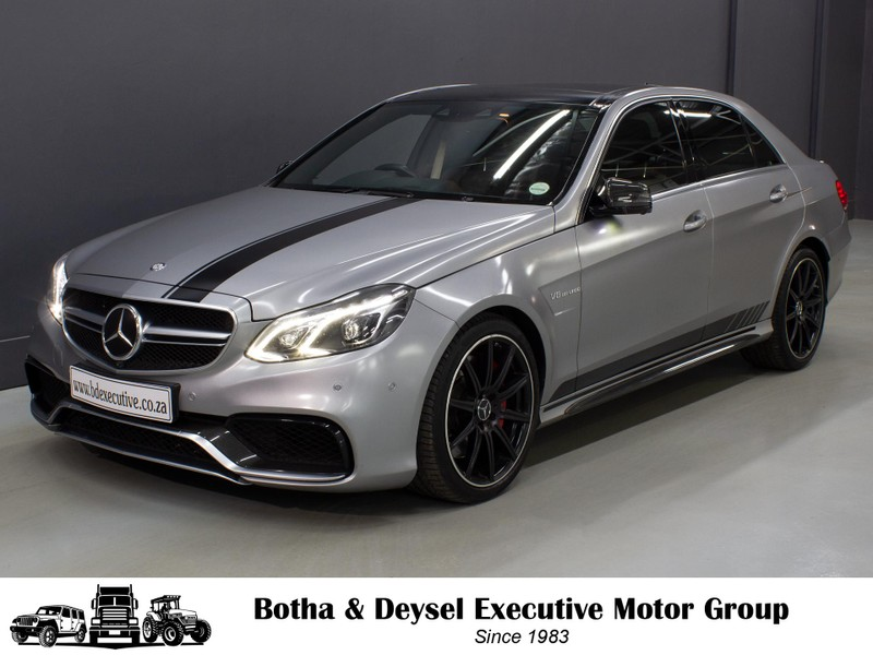 2015 Mercedes-Benz E-Class E 63 AMG S Gauteng Vereeniging_0