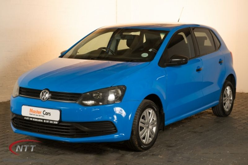 2015 Volkswagen Polo 1.2 TSI Trendline 66KW Gauteng Heidelberg_0