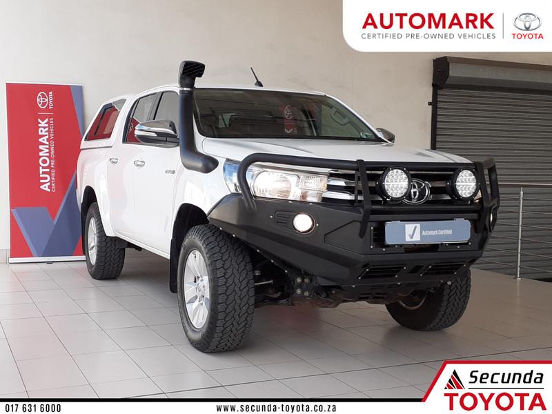 2016 Toyota Hilux 2.8 GD-6 RB Raider Double Cab Bakkie Auto Mpumalanga Secunda_0