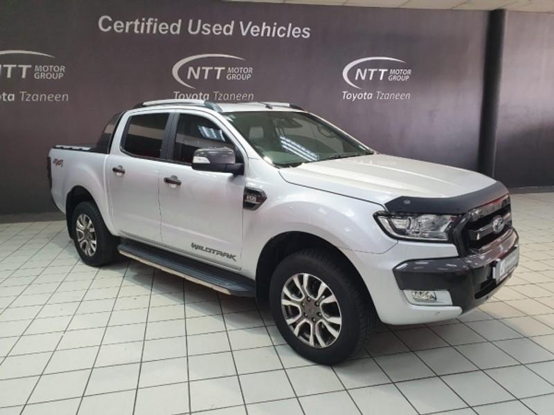 2018 Ford Ranger 3.2TDCi 3.2 WILDTRAK 4X4 Auto Double Cab Bakkie Limpopo Tzaneen_0