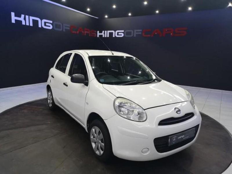 2013 Nissan Micra 1.2 Visia 5dr d82  Gauteng Boksburg_0