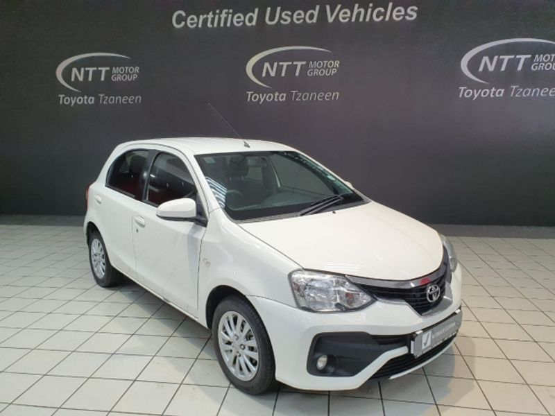 2017 Toyota Etios 1.5 Xs 5dr  Limpopo Tzaneen_0