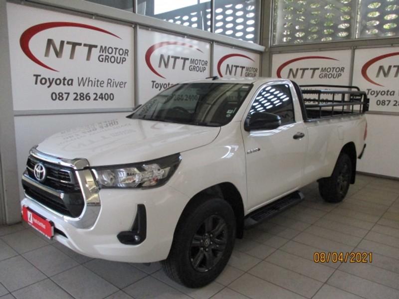 2021 Toyota Hilux 2.4 GD-6 Raider 4x4 Auto Single Cab Bakkie Mpumalanga White River_0
