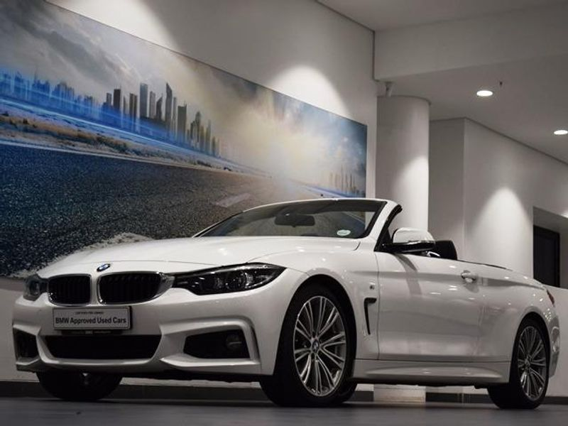 2018 BMW 4 Series 420i Convertible M Sport Auto Kwazulu Natal Umhlanga Rocks_0