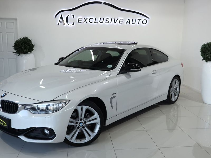 2015 BMW 4 Series Coupe Sport Line Auto Western Cape Parow_0