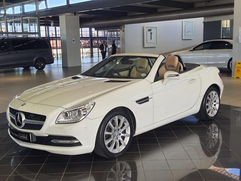 2013 Mercedes-Benz SLK Slk 350 At  Western Cape Cape Town_0