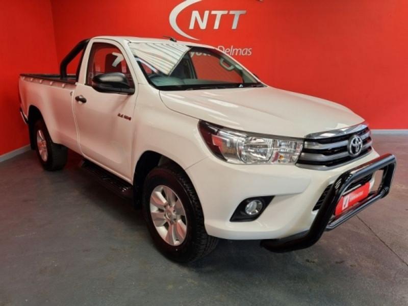 2018 Toyota Hilux 2.4 GD-6 RB SRX Single Cab Bakkie Mpumalanga Delmas_0