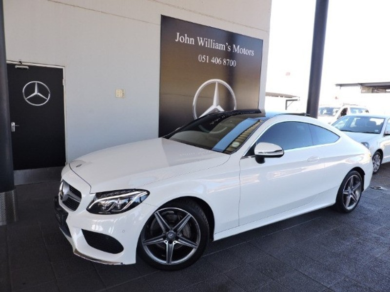 2016 Mercedes-Benz C-Class C220d AMG Coupe Auto Free State Bloemfontein_0
