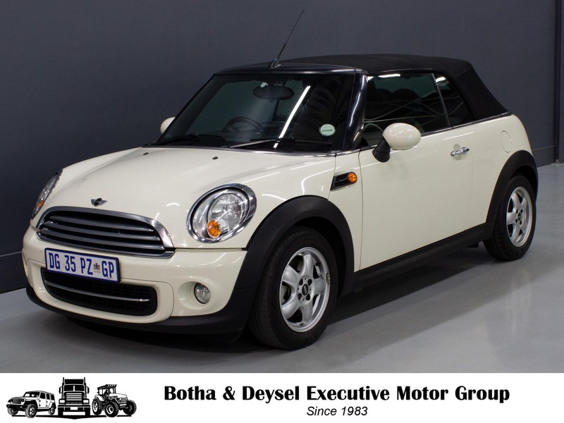 2011 MINI Convertible Cooper Gauteng Vereeniging_0